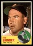 1963 Topps #215  Bob Skinner  Front Thumbnail