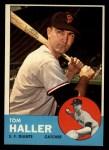1963 Topps #85  Tom Haller  Front Thumbnail