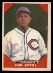 1960 Fleer #71  Earl Averill  Front Thumbnail