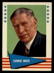 1961 Fleer #123  Connie Mack  Front Thumbnail