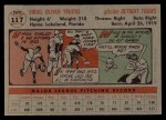 1956 Topps #117  Virgil Trucks  Back Thumbnail