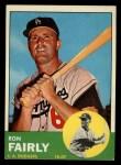 1963 Topps #105 ^COR^ Ron Fairly  Front Thumbnail
