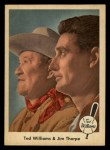1959 Fleer #70  Ted Williams / Jim Thorpe  Front Thumbnail