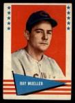 1961 Fleer #128  Ray Mueller  Front Thumbnail
