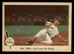 1959 Fleer #31   -  Ted Williams  Sox Lose the Series Front Thumbnail