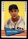 1961 Fleer #134  George Pipgras  Front Thumbnail