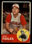1963 Topps #326  Hank Foiles  Front Thumbnail