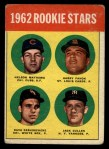 1963 Topps #54 TWO  -  Dave DeBusschere / Nelson Matthews / Harry Fanok / Jack Cullen 1962 Rookies Front Thumbnail