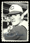 1969 Topps Deckle Edge #21  Pete Rose  Front Thumbnail