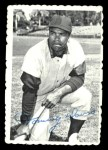 1969 Topps Deckle Edge #15  Tommy Davis    Front Thumbnail