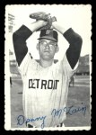 1969 Topps Deckle Edge #8  Denny McLain    Front Thumbnail