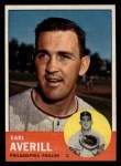 1963 Topps #139  Earl Averill Jr.  Front Thumbnail