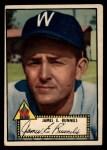 1952 Topps #2 BLK Pete Runnels  Front Thumbnail