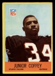 1967 Philadelphia #2  Junior Coffey   Front Thumbnail