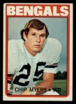 1972 Topps #17  Chip Myers  Front Thumbnail