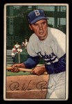1952 Bowman #8  Pee Wee Reese  Front Thumbnail