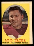 1958 Topps #25  Leo Elter  Front Thumbnail