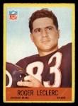 1967 Philadelphia #31  Roger LeClerc  Front Thumbnail