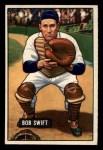 1951 Bowman #214  Bob Swift  Front Thumbnail