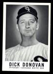 1960 Leaf #72 SML Dick Donovan  Front Thumbnail