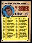 1968 Topps #518 MAJ  -  Clete Boyer Checklist 7 Front Thumbnail