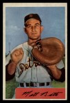 1954 Bowman #183  Matt Batts  Front Thumbnail