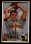 1952 Bowman #29  Ned Garver  Front Thumbnail