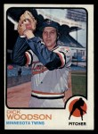1973 Topps #98  Dick Woodson  Front Thumbnail