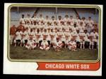 1974 Topps #416   White Sox Team Front Thumbnail