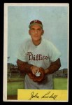 1954 Bowman #159  Johnny Lindell  Front Thumbnail