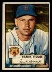 1952 Topps #146  Frank House  Front Thumbnail