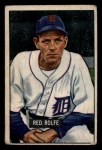 1951 Bowman #319  Red Rolfe  Front Thumbnail