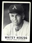 1960 Leaf #71  Whitey Herzog  Front Thumbnail