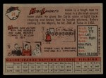 1958 Topps #24 ^WN^ Hobie Landrith  Back Thumbnail