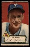 1952 Topps #60 BLK Sid Hudson  Front Thumbnail
