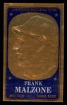 1965 Topps Embossed #37   Frank Malzone   Front Thumbnail