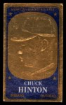 1965 Topps Embossed #60   Chuck Hinton   Front Thumbnail