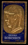 1965 Topps Embossed #16   Brooks Robinson   Front Thumbnail