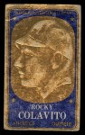 1965 Topps Embossed #46   Rocky Colavito   Front Thumbnail