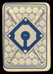1968 Topps Game Inserts #27   Al Kaline   Back Thumbnail