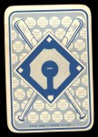1968 Topps Game Inserts #10  Tommy Davis  Back Thumbnail