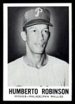 1960 Leaf #70  Humberto Robinson  Front Thumbnail