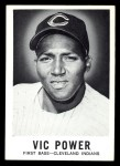 1960 Leaf #65  Vic Power  Front Thumbnail