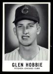 1960 Leaf #20  Glen Hobbie  Front Thumbnail
