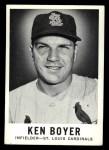 1960 Leaf #12 SML Ken Boyer  Front Thumbnail