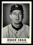 1960 Leaf #8  Roger Craig  Front Thumbnail
