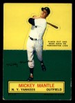 1964 Topps Stand Ups #45  Mickey Mantle  Front Thumbnail