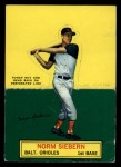 1964 Topps Stand Ups  Norm Siebern  Front Thumbnail