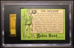 1957 Topps Robin Hood #11   The Holdup Back Thumbnail