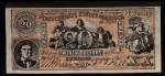 1962 Topps Civil War News Currency #12   $20 Serial #131960 Front Thumbnail